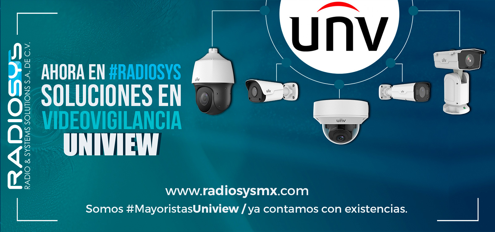 UNIVIEW CÁMARAS IP